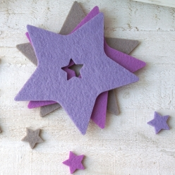 "Coasters ""Shootingstar"" lavendel"