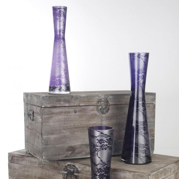 """Vasen """"Blütenstaub"""" silver edition"""
