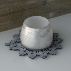 Candle Light silver-grey