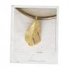Feather - Anhänger Gelbgold 750