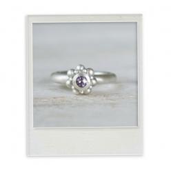 """Ring """"Seeigel Lavendel"""""""