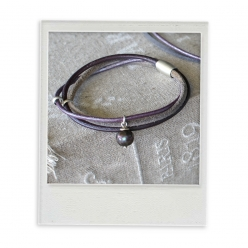 "Bracelet ""viola laguna pearl"""