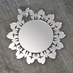 "Coasters ""butterfly silver edition"""