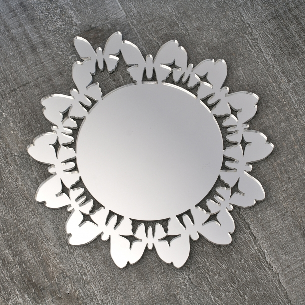 """Coasters """"butterfly silver edition"""""""