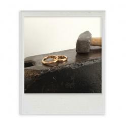 """Ring """"Hammerschlag fein"""""""
