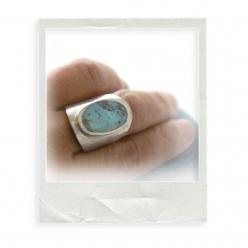 """Ring """"Gizeh Türkis"""""""