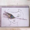 "Art Card ""Poesia Pavo Real"""