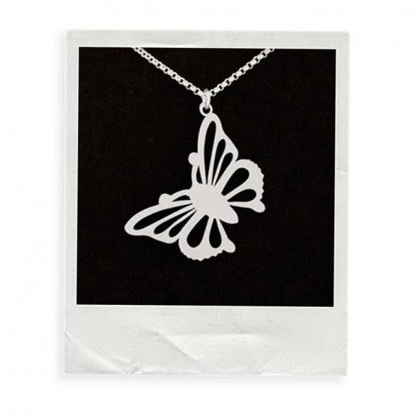 """Butterfly"" - Anhänger Edelstahl"