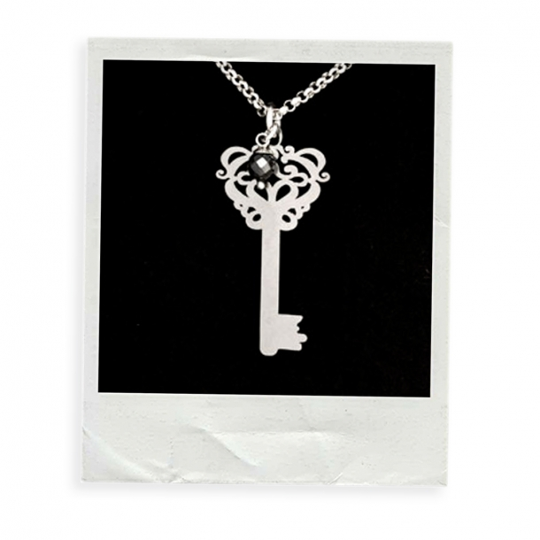 """""""Secret Key"""" - Anhänger Edelstahl"""