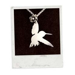 """""""Kolibri"""" - Anhänger Edelstahl"""